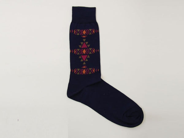 AZTEC DESIGN ORGANIC COTTON SOCKS