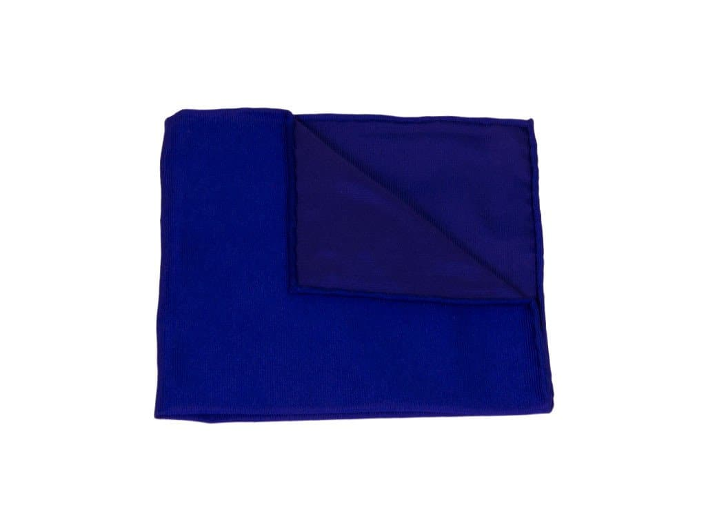 SOLID WOVEN SILK POCKET SQUARE