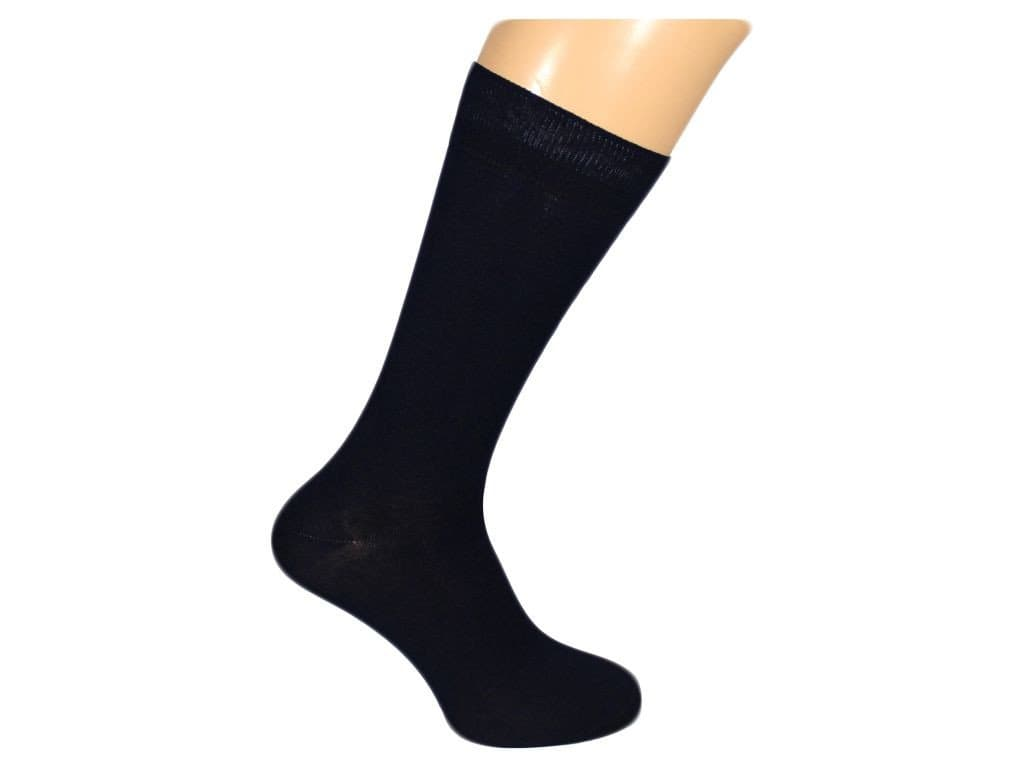 SOLID MERCERISED SOCKS