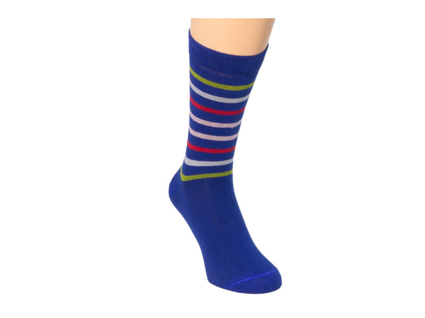 MULTI-TONAL BAR STRIPED SOCKS