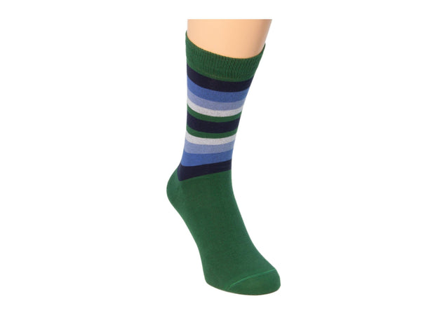 GRADIENT STRIPED SOCKS