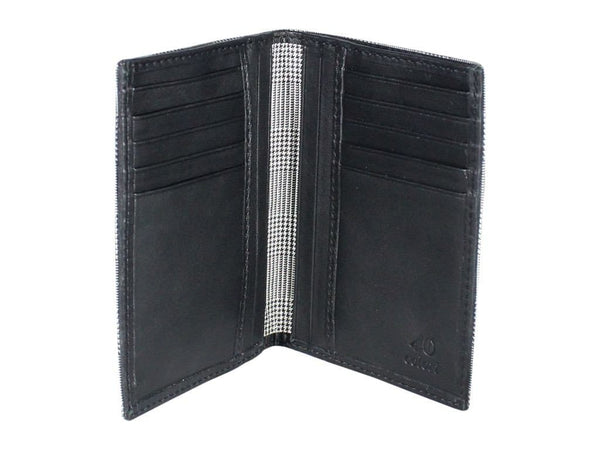 GLEN PLAID SMALL PASSPORT WALLET