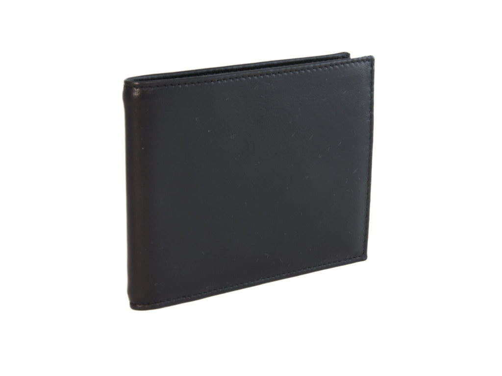 LEATHER BILLFOLD AND COIN WALLET