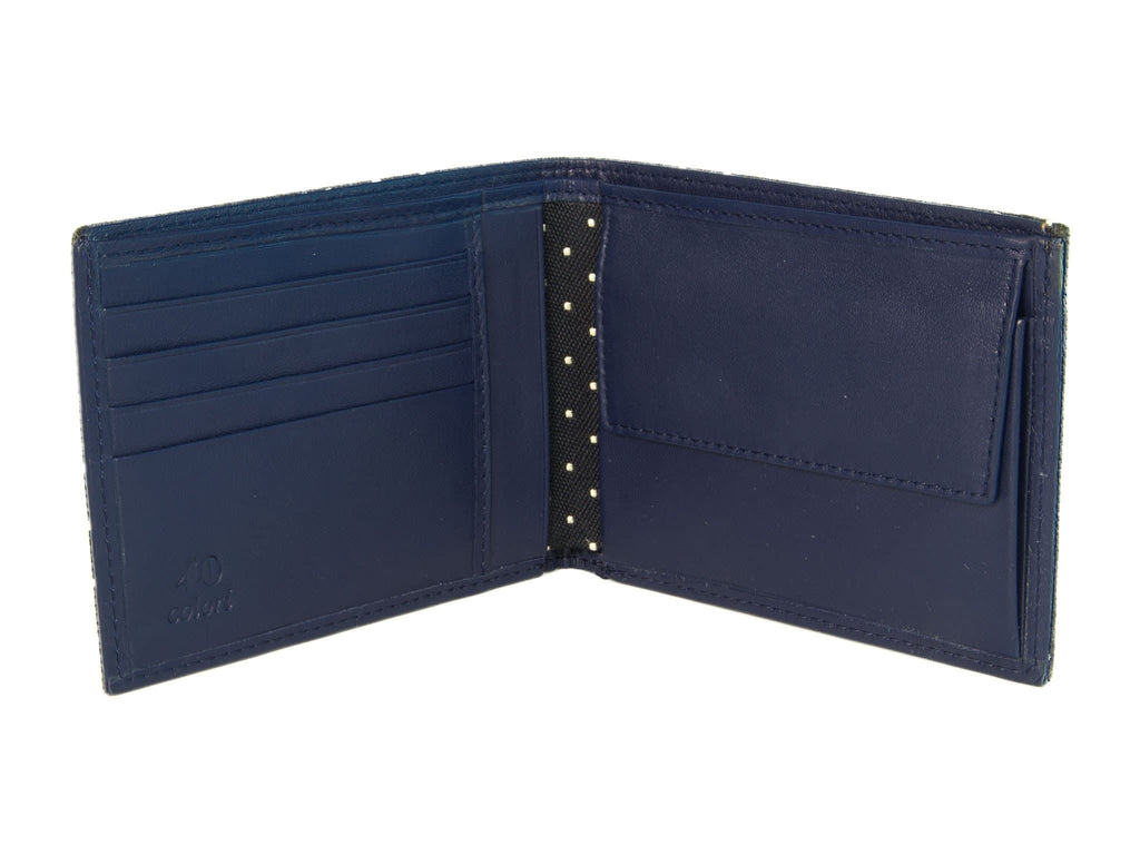 DOTTED BILLFOLD AND COIN WALLET
