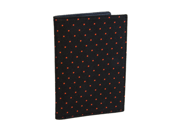 DOTTED PASSPORT AND CREDIT CARD WALLET
