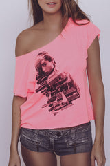 CHICA-GO-GIRL Loose Tee for Women