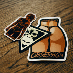 Ohrangutang's Obsession [Stickers Serie1]