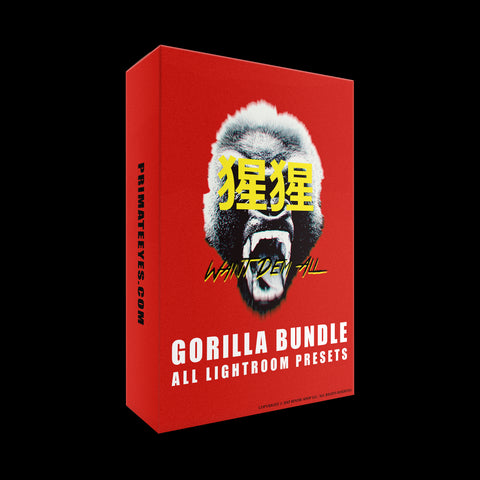 GORILLA BUNDLE [ALL LIGHTROOM PRESETS]