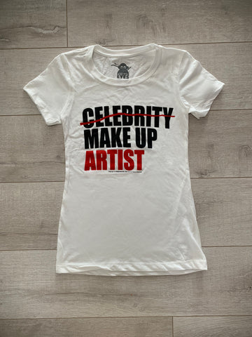 MAKE UP ARTIST  t-shirt [for women]