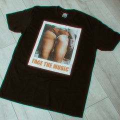 FACE THE MUSIC t-shirt [for men]