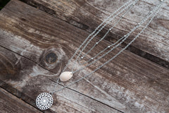 SILVER MULTILOVE NECKLACE