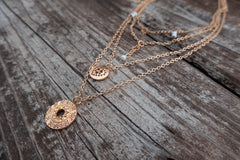 GOLD FAITH NECKLACE