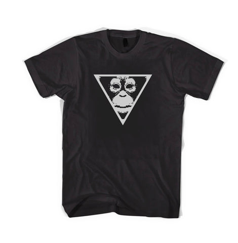 PRIMATE LOGO black t-shirt [for men]