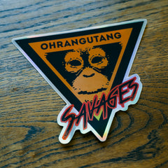 Ohrangutang' Savages [Stickers Serie1]