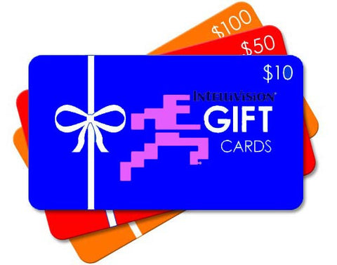 EXCLUSIVE! Intellivision Webstore Gift Card