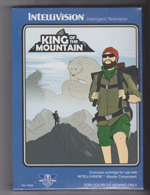 King of the Mountain - NIS Cartridge for Intellivision Console
