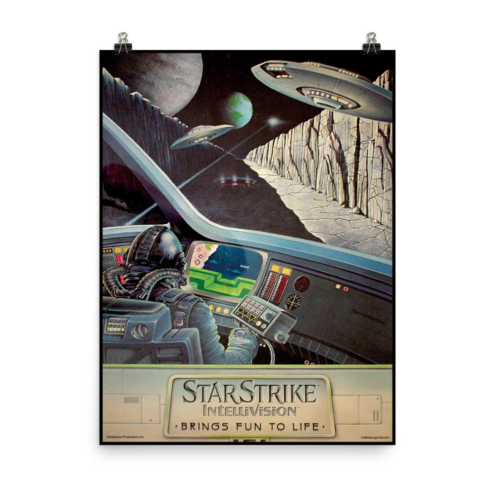 Star Strike Original Artwork 18x24 Poster