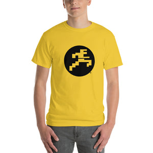 Running Man Knock-Out T-Shirt - Dark Logo on Light Shirt