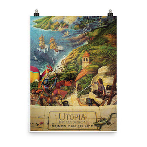 Utopia Original Artwork 18x24 Poster
