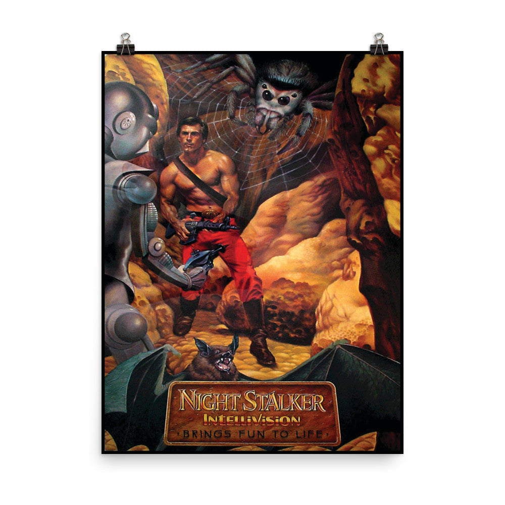 Night Stalker Original Artwork 18x24 Poster