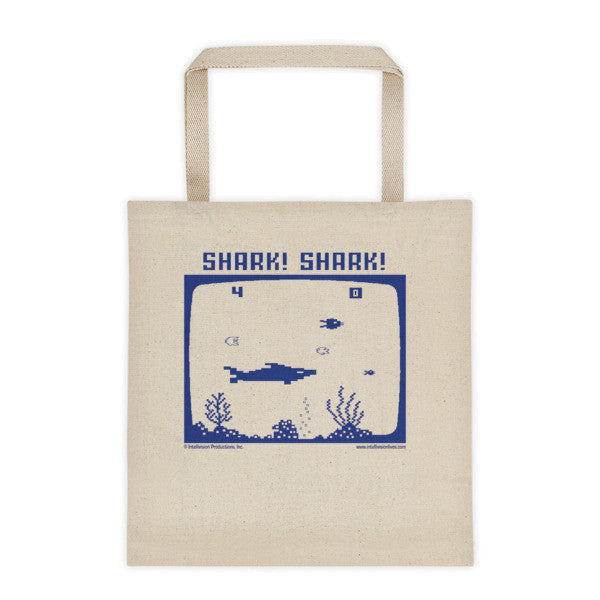 EXCLUSIVE! Shark! Shark! beach tote bag