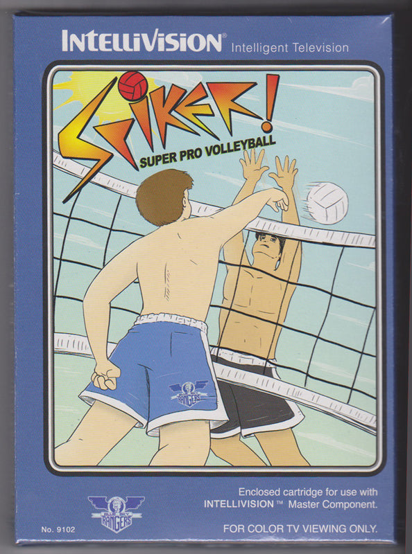 Spiker! Super Pro Volleyball - NIS Cartridge for Intellivision Console
