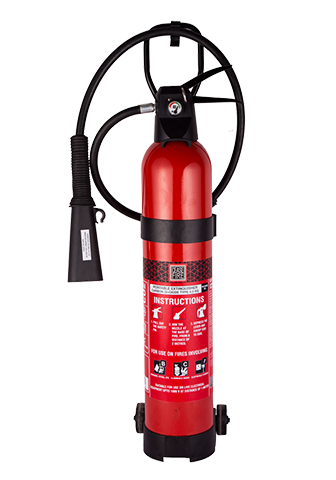 Ceasefire CO2 Based Aluminium Fire Extinguisher - 4.5Kg