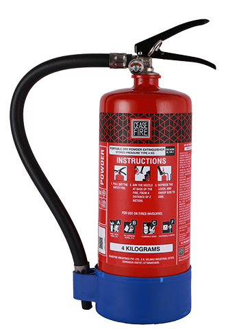 Map 90 Fire Extinguisher.Ceasefire Abc Powder Map90 Fire Extinguisher 4kg