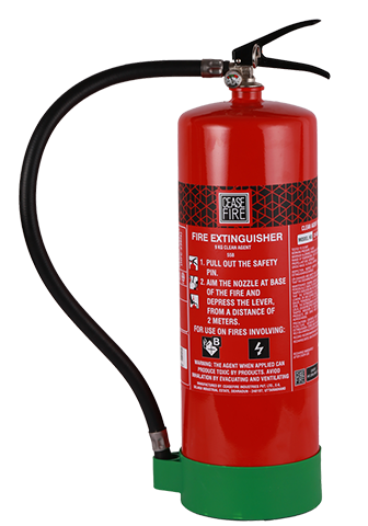 Ceasefire Clean Agent (HFC 236fa) Based Fire Extinguisher - 9 Kg