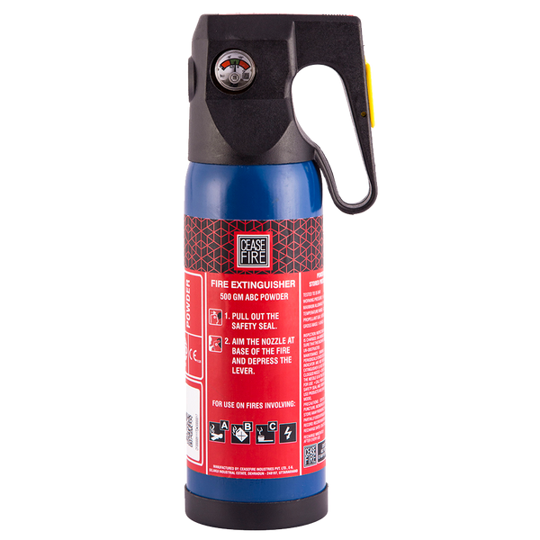 Car Fire Extinguisher >> Ceasefire Abc Powder Map 90 Based Fire Extinguisher 500 Gms