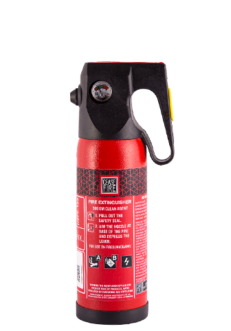 Ceasefire Clean Agent (HCFC123) Based Fire Extinguisher - 500Gms