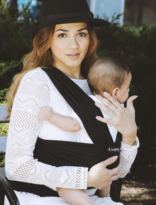Classic Tuxedo Baby Wrap Carrier