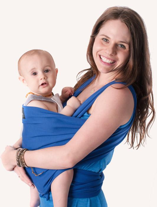 Blue Baby Wrap