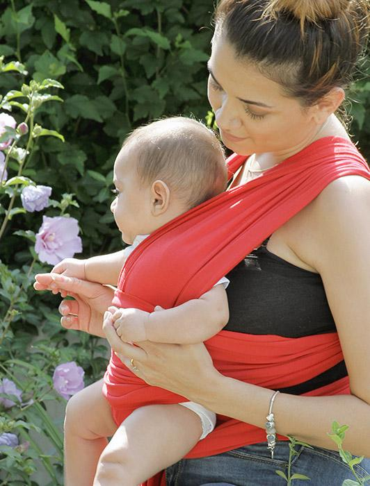 Red Baby Wrap