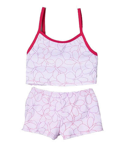 Butterfly Pink Tankini
