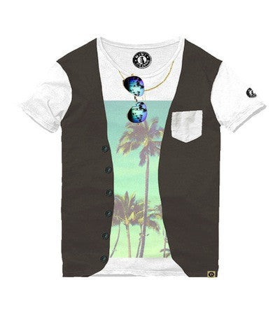 Mini Shatsu Summer Vest T-Shirt