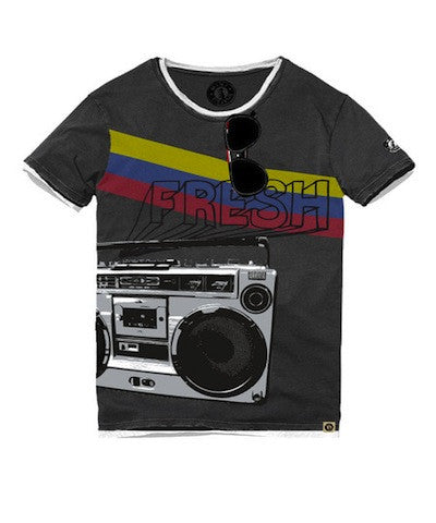 Mini Shatsu Fresh Boombox T-Shirt