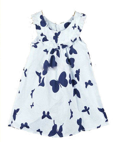 Butterfly Kisses Baby Doll Dress