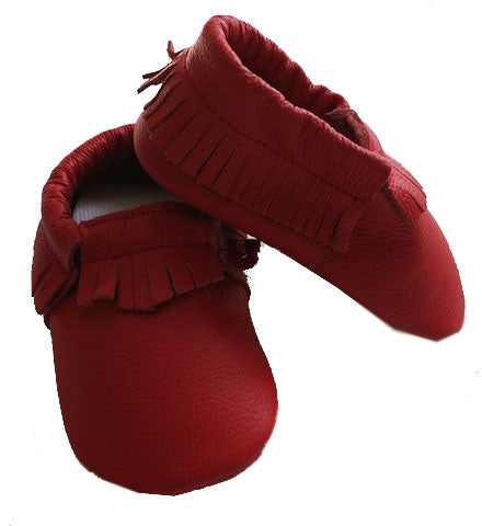 Ruby Red Moccasins