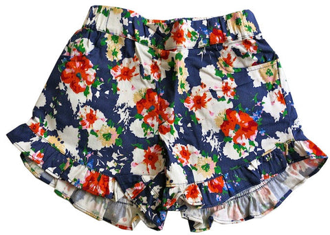 Flower Garden Ruffle Short