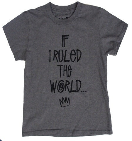 Kira If I Ruled the World Tee