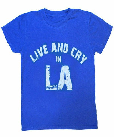 Kira Live And Cry In LA Tee