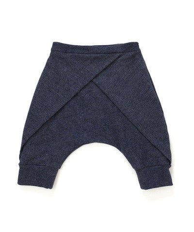 Omami Mini Harem Shorts with Front Pleat