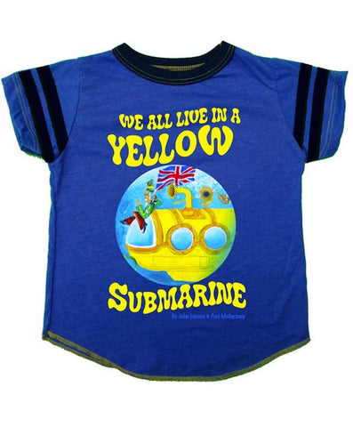 Rowdy Sprouts Beatles Yellow Submarine Tee