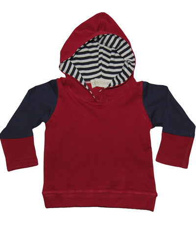 Go Gently Baby Jersey Panel Hoodie