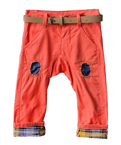 Coral Patch Harem Pant