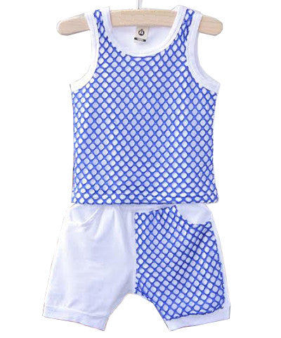 Gone Fishing Tank and Shorts Set