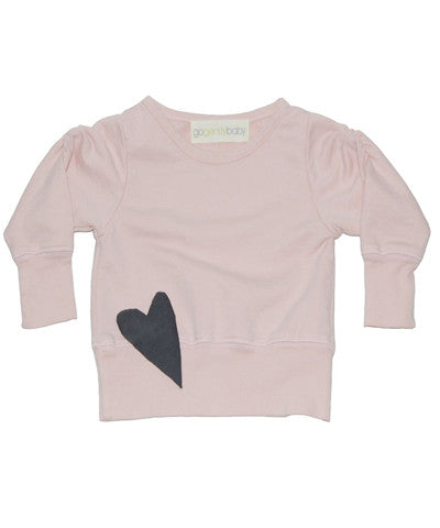 Go Gently Baby Heart Sweatshirt