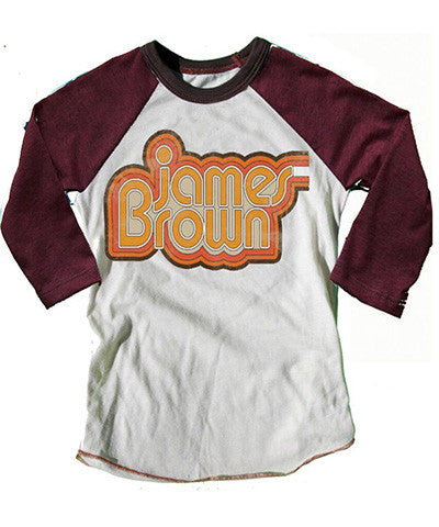 Rowdy Sprout James Brown Raglan Tee