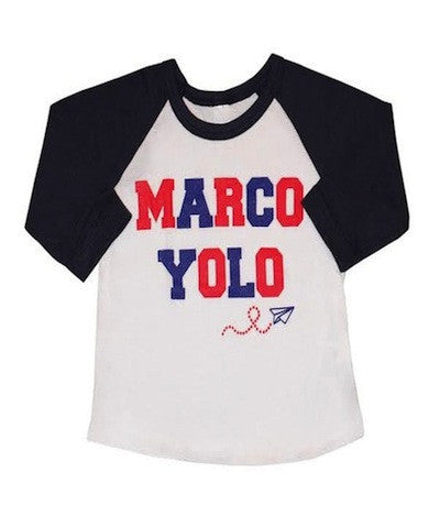 Detention Tees Marco Yolo Baseball Tee
